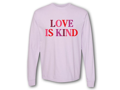 Love is Kind long sleeve