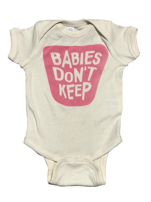 Babies Don't Keep Pink