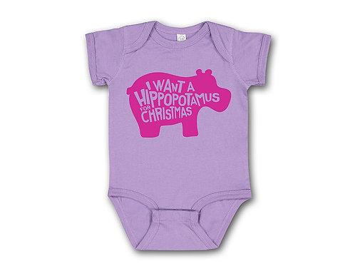 Purple Hippo Baby