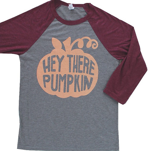 Hey There Pumpkin Raglan