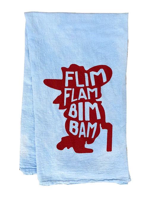 Flim Flam Bim Bam Towel