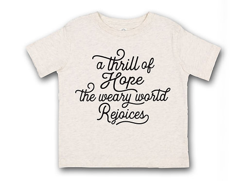 A Thrill of Hope Kid