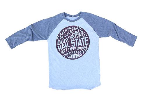 Mississippi State Baseball Raglan
