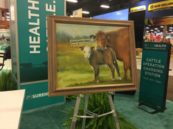 Painting went to NCBA President