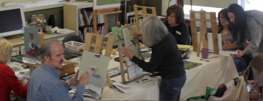 Easel to Easel Instruction