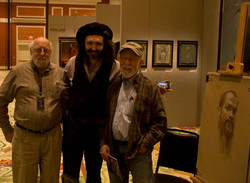 Dan and Max with Alexey Steele...