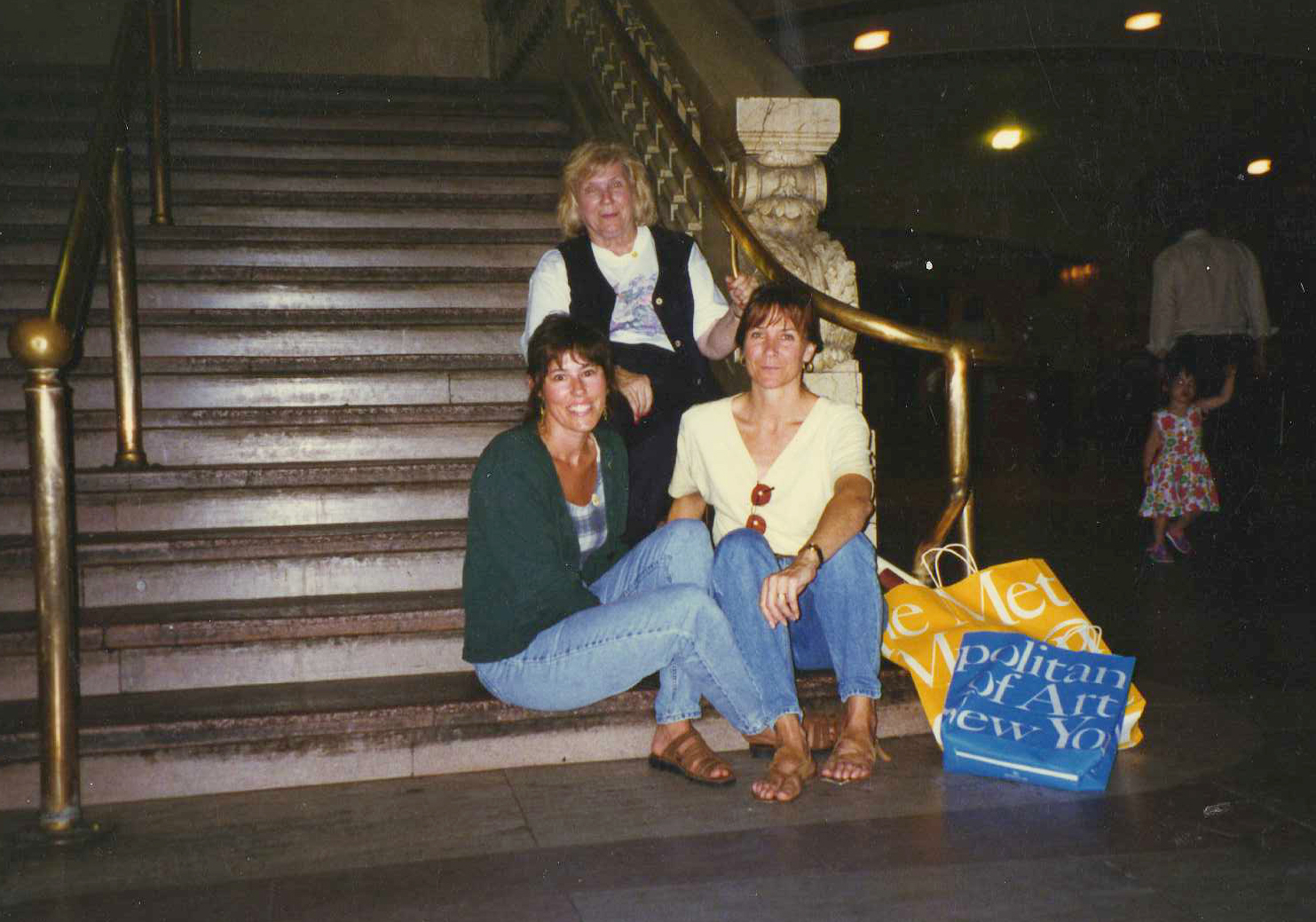Shirley Carol & I in Grand Central Sta NY 1996 maybe