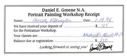 DG receipt 1998