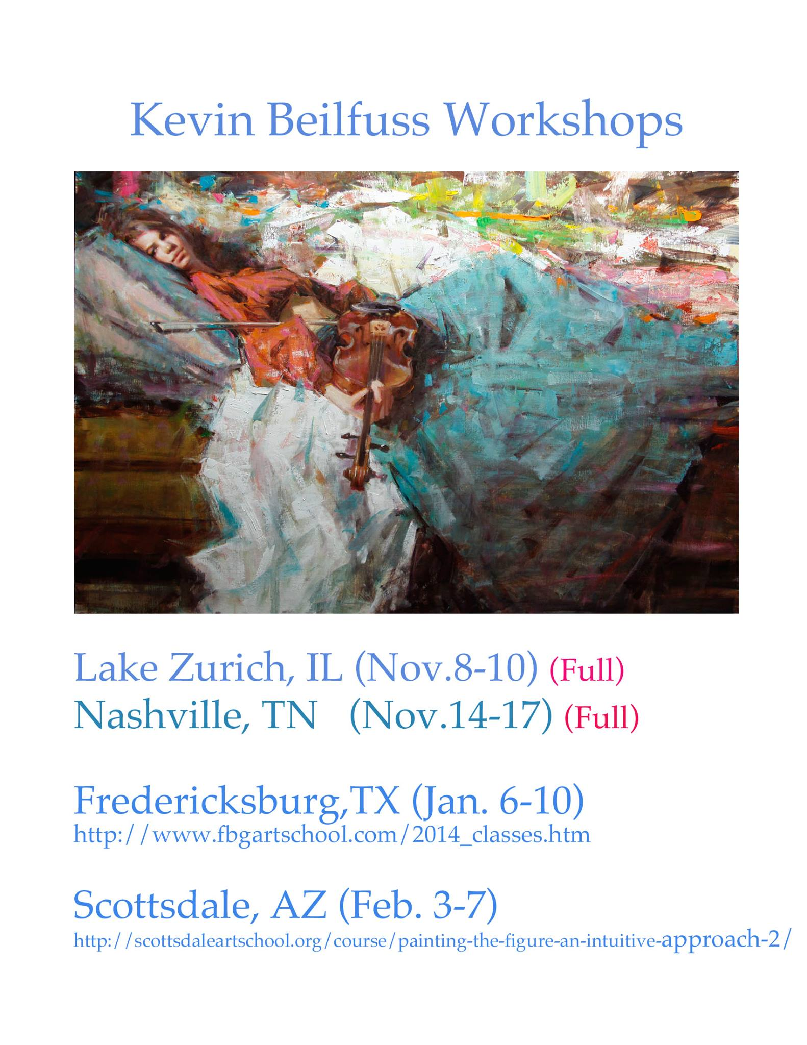 Kevin BEilfuss workshop
