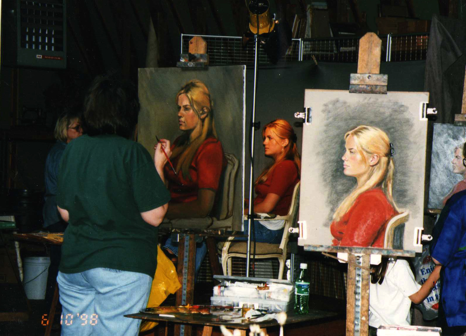 Dan Greene workshop my easel 1998