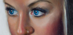 Focal point is the eyes