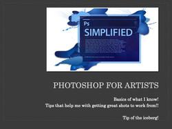 Photoshop for Artists NOTES