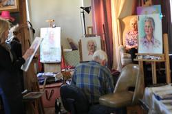 Open Studio with Model