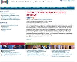 art of spreading word Seminar 2013