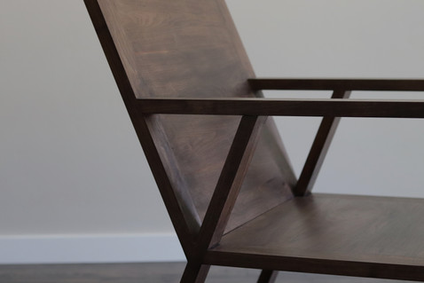 Custom Walnut Chair