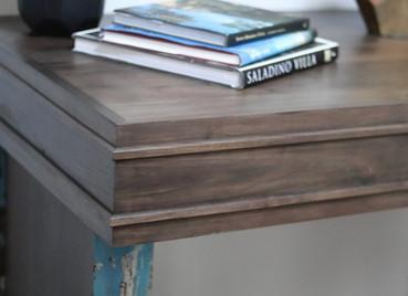 Custom Walnut Console Table