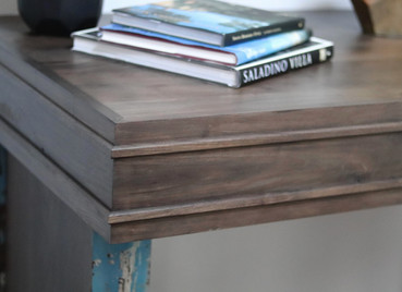 Custom Walnut Console Table