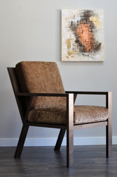 Custom Walnut Chair