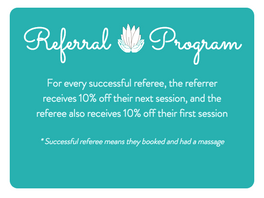 Referral Program: It's a win win!