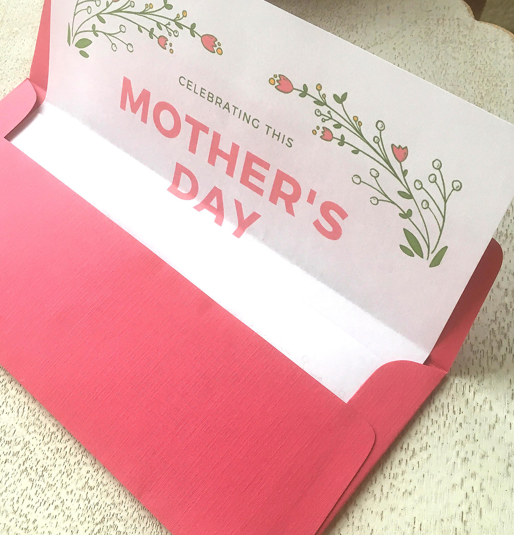 mothers day gift certificate example