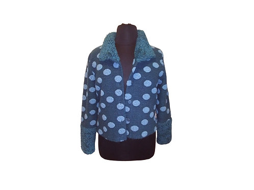 TIB European Wool & Mohair Jacket - Size:  Small
