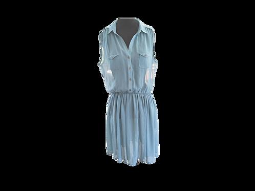 Soft Blue Over Dress