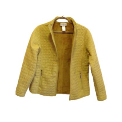 Chartreuse Fleece Lined Jacket