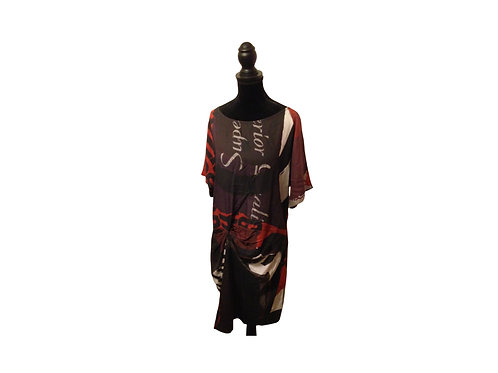 DESIGUAL Shift Dress - Size:  Medium/Large