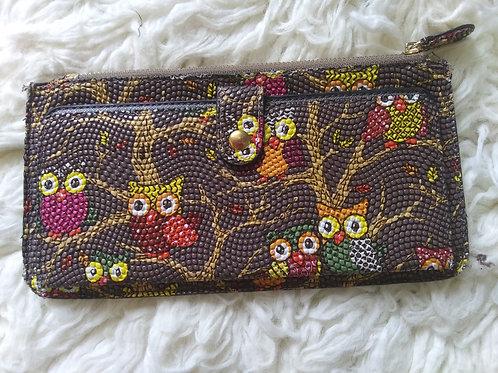 Owl Clutch/Wallet