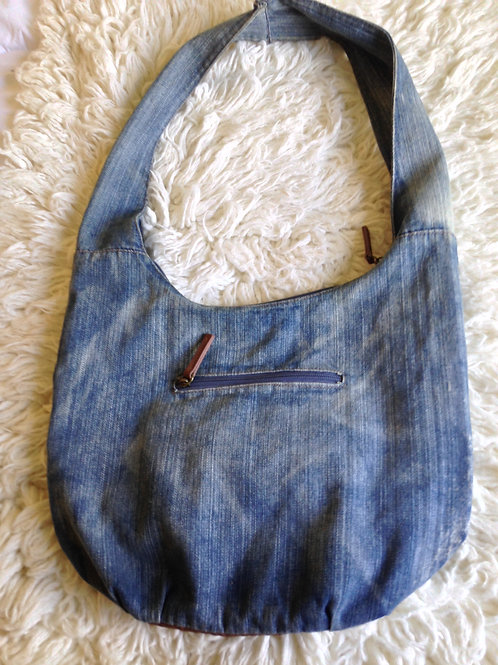 CARGO Over Sized Denim Tote