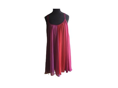 RED CHILLI Fuschia Dress:  One Size Fits All