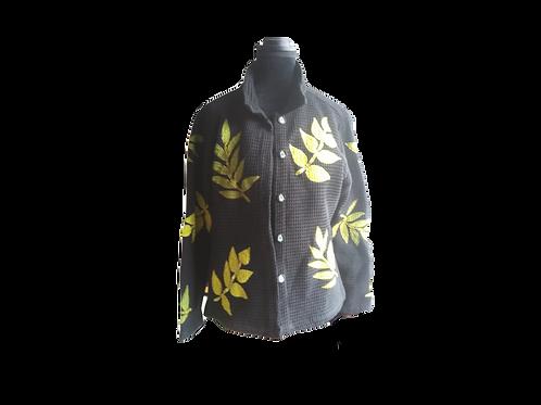 Fall Floral Jacket - Size:  Medium