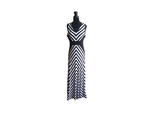 CALVIN KLEIN Striped Summer Dress - Size:  Small