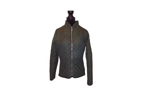 JORDACHE Quilted Jacket - Size:  Small