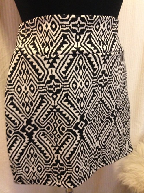 Candy Couture - Black & White Mini Skirt