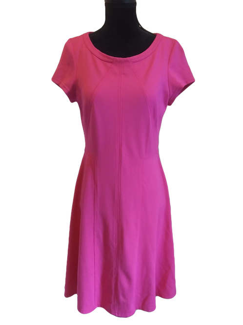 Fuschia Jersey Dress