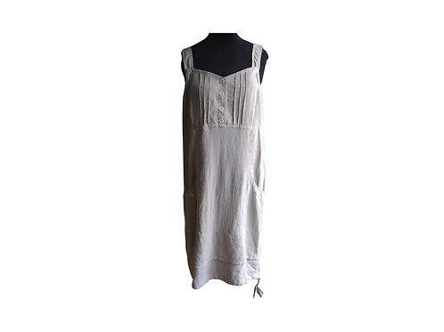 MARIE CLAIRE Linen Dress - Size:  Medium