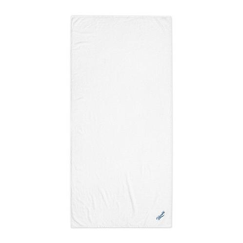Vassaliki White cotton towel