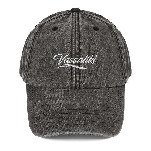 Vassaliki vintage cap