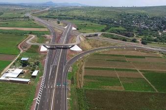 ACB de la autopista Salamanca-León, México