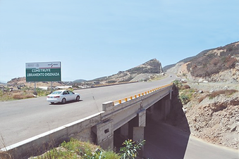 Ensenada Beltway (Libramiento Ensenada) in Mexico