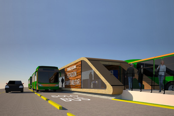 Executive project of the comprehensive transportation system (BRT) in the municipalities of Lerdo and Gomez Palacio, Durango, Mexico.