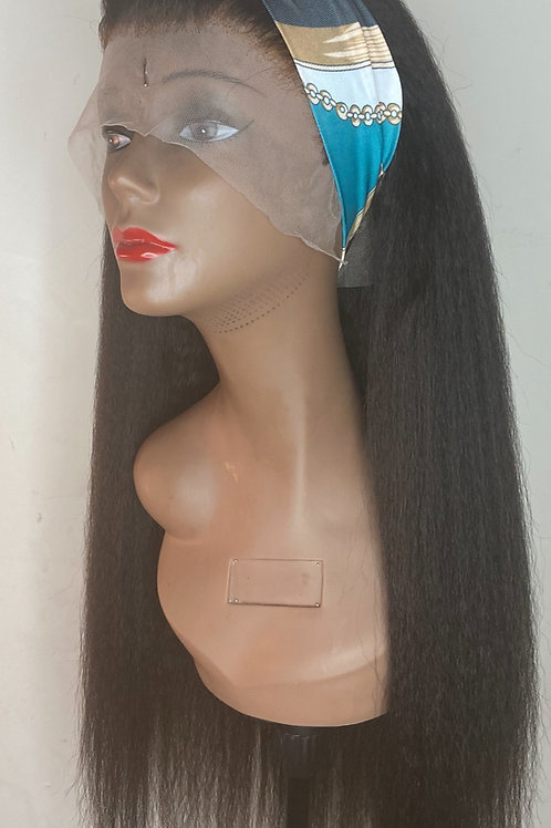 Kreation Kinky Straight Wig Frontal 26""