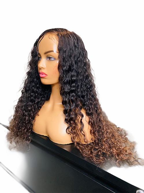 Cambodian Curly Lace Frontal Wig