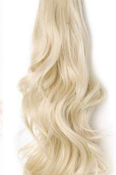 Dream Blonde Ponytail 100% Density