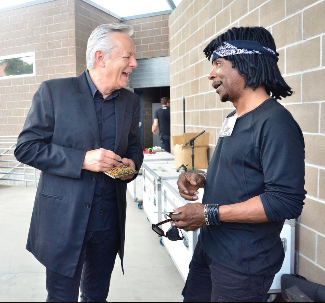 With Tommy Emmanuel