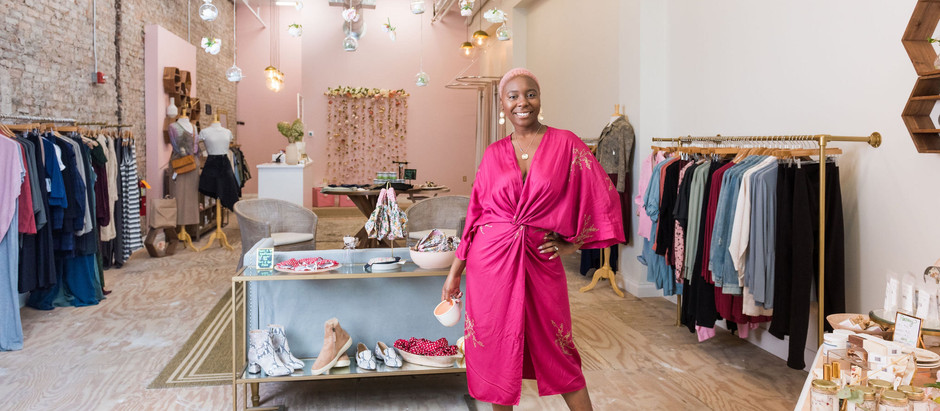 A Chat with Caeresa Richardson, owner of Gypsy Freedom, a Sustainable Fashion Boutique