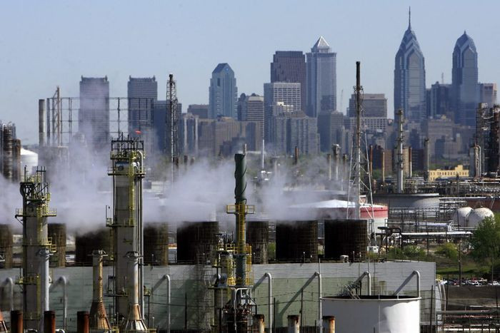 Pollution in Philadelphia