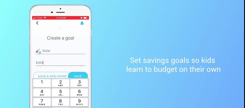 PyggyBank - iOS app for kids banking