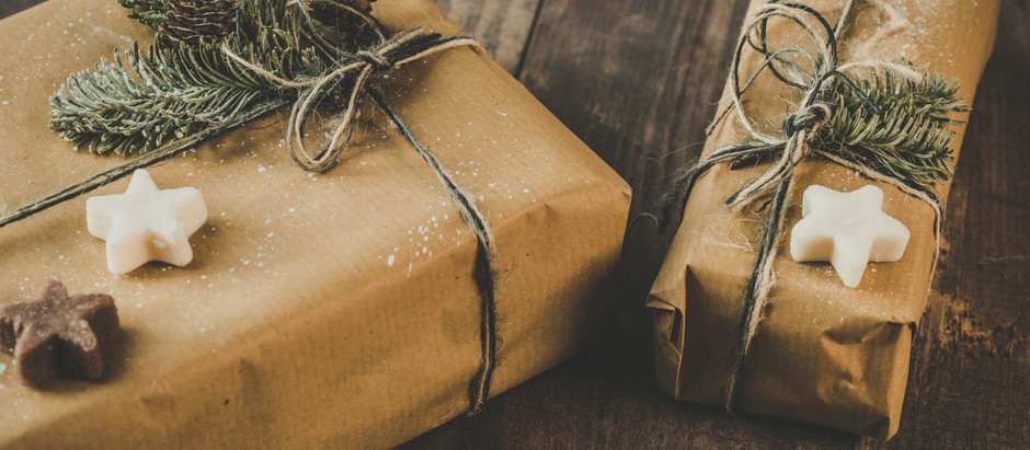 Last Minute Sustainable Gift Ideas, What to do with Unwanted Gifts, & Christmas Tree Recycling